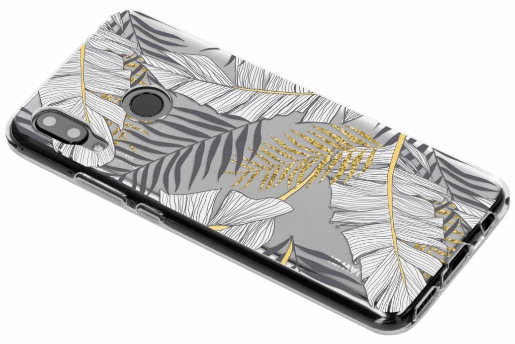 Botanic design siliconen hoesje voor de Huawei Nova 3