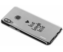 Quote design TPU hoesje Huawei Nova 3