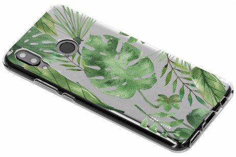Design Backcover voor Huawei Nova 3 - Monstera Leafs