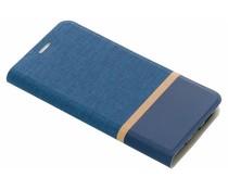 Blauw stripe booklet HTC 10