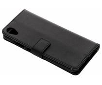 Zwart TPU Bookcase Asus ZenFone Live L1