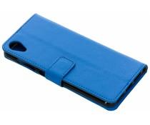 Blauw TPU Bookcase Asus ZenFone Live L1