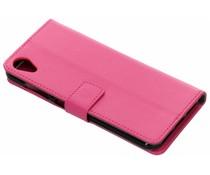 Roze TPU Bookcase Asus ZenFone Live L1