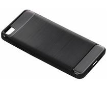Zwart Brushed TPU case Xiaomi Mi 5
