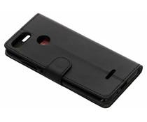 Zwart luxe booktype hoes Xiaomi Redmi 6