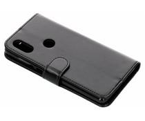 Zwart glanzende luxe booktype hoes Xiaomi Mi Mix 2s