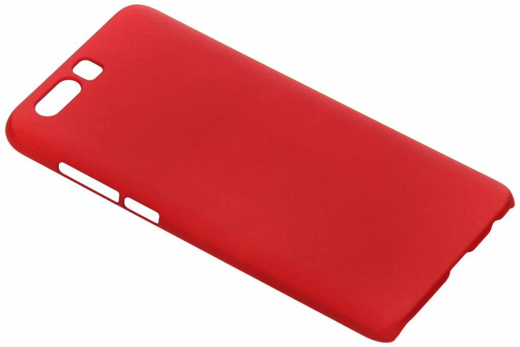 Rood effen hardcase hoesje voor de Honor 9