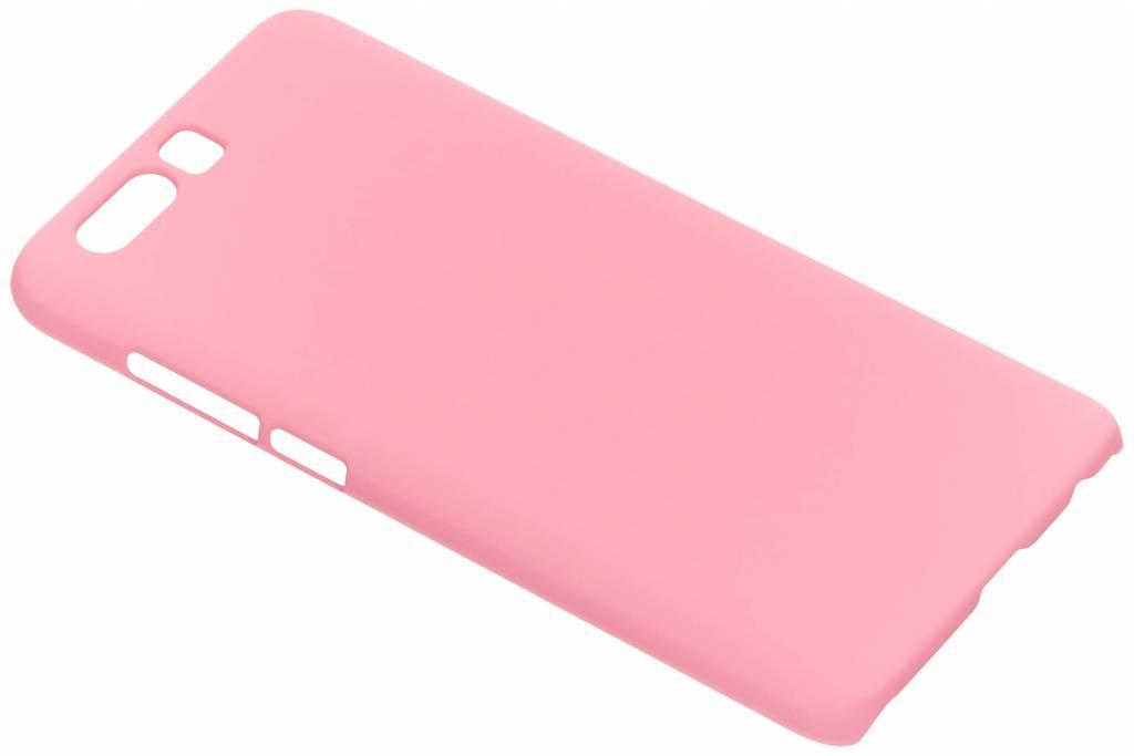 Roze effen hardcase hoesje voor de Honor 9