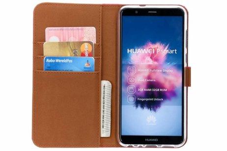 Huawei P Smart hoesje - Luxe Softcase Booktype voor
