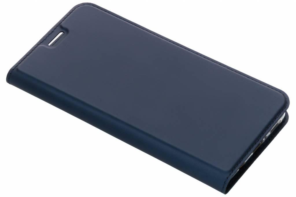 Dux Ducis Slim Softcase Booktype voor Huawei P Smart Plus - Donkerblauw