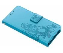 Klavertje Bloemen Booktype Sony Xperia Z5