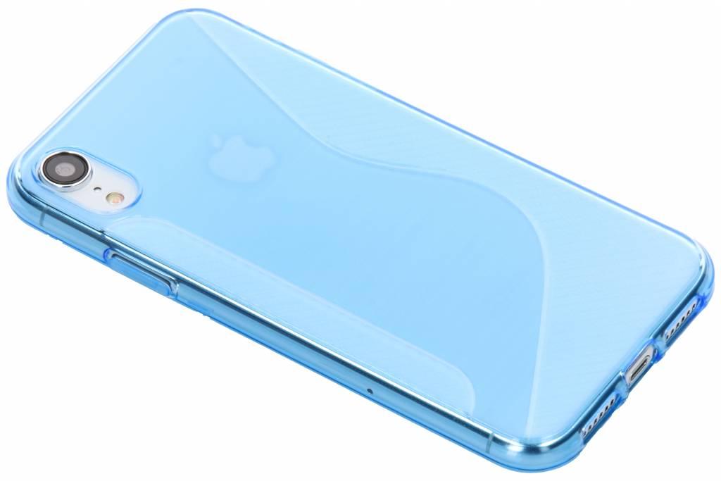 Blauw S-line TPU hoesje voor de iPhone Xr