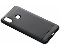 Zwart Brushed TPU case Xiaomi Mi Max 3
