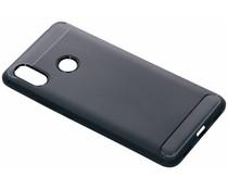 Donkerblauw Brushed TPU case Xiaomi Mi Max 3