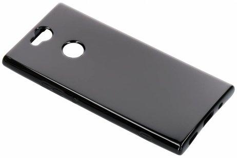 Softcase Backcover voor Sony Xperia XA2 Plus - Zwart