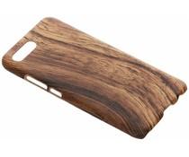 Donkerbruin hout design hardcase hoesje Honor 10