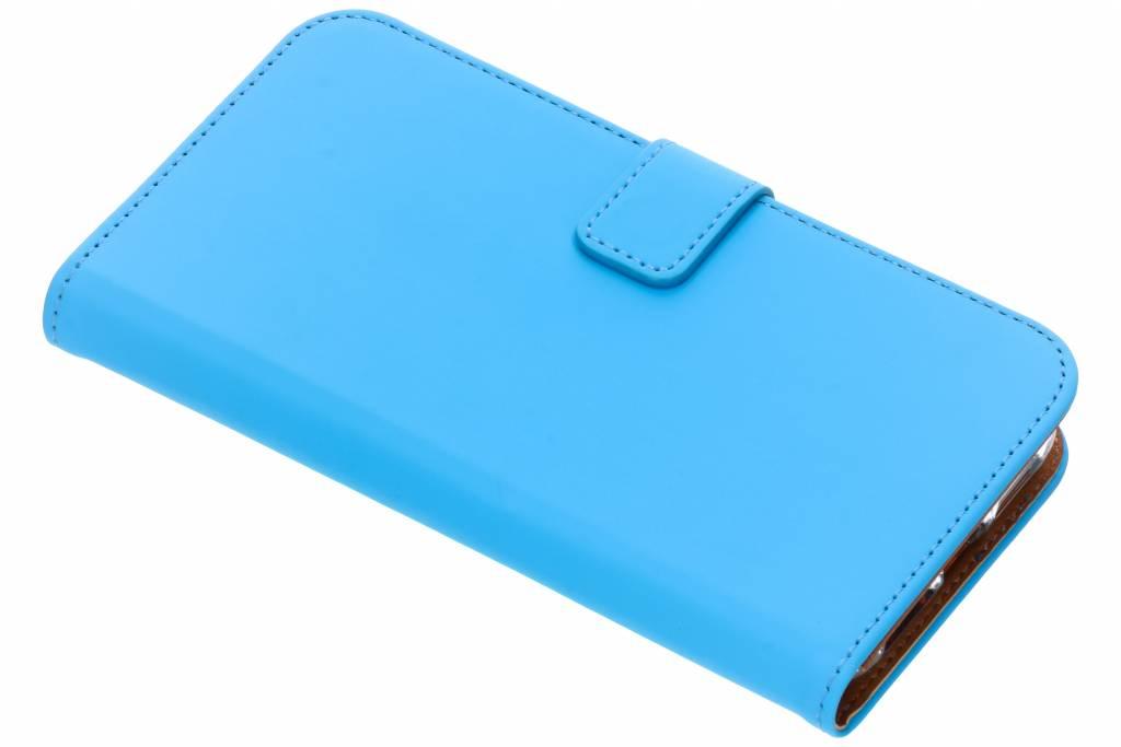 Selencia Blauwe Luxe TPU Book Case voor de iPhone Xr