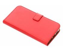 Selencia Rood Luxe TPU Book Case iPhone Xr