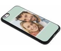 Ontwerp uw eigen iPhone 6 / 6s gel hoesje - Zwart