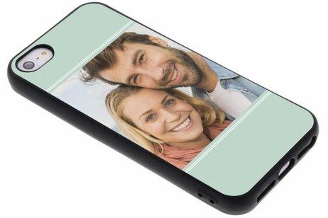 Ontwerp uw eigen iPhone 5 / 5s /  SE gel hoesje - Zwart