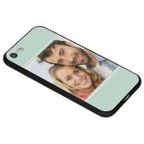 Ontwerp uw eigen iPhone 8 / 7  gel hoesje - Zwart