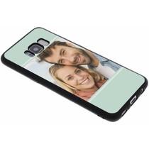 Ontwerp je eigen Samsung Galaxy S8 gel hoesje - Zwart