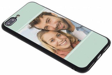 Ontwerp uw eigen iPhone 8 Plus / 7 Plus gel hoesje - Zwart