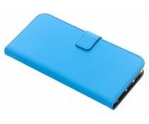 Selencia Blauw Luxe TPU Book Case iPhone Xs Max