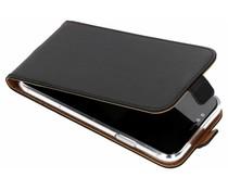 Selencia Zwart Luxe TPU Flipcase iPhone Xr