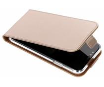 Selencia Goud Luxe TPU Flipcase iPhone Xr
