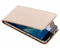Selencia Goud Luxe TPU Flipcase Huawei Y7 Prime