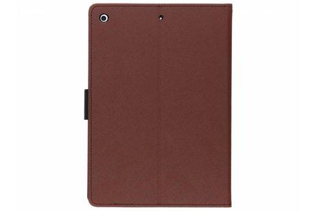 Mercury Goospery Canvas Diary Booktype voor iPad Pro 9.7 - Bruin