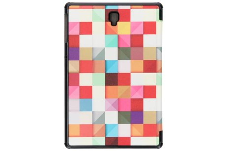 Design Hardcase Bookcase voor Samsung Galaxy Tab S4 10.5 - Kleurtjes
