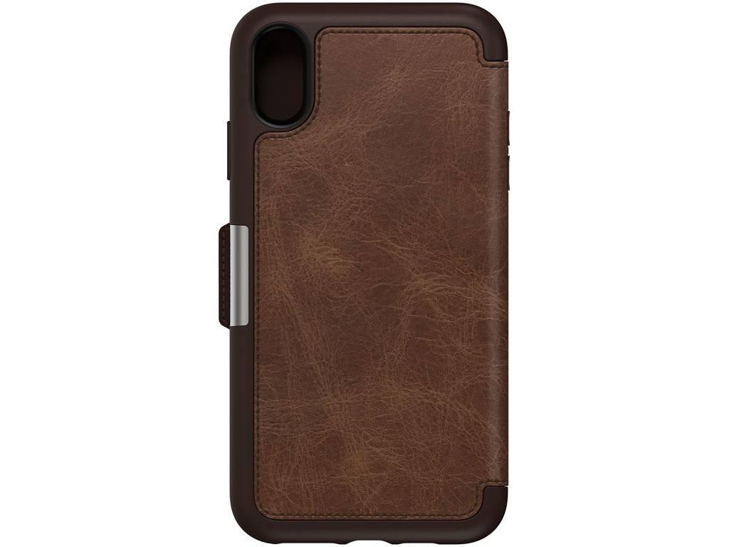 OtterBox Bruine Strada Book Case voor de iPhone Xs Max
