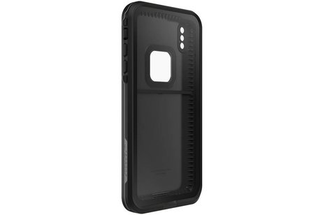 LifeProof FRĒ Backcover voor iPhone Xs Max - Zwart