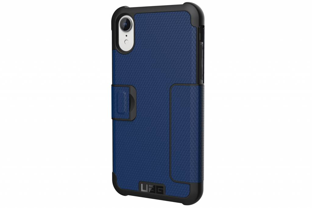 UAG Blauwe Metropolis Folio Case voor de iPhone Xr
