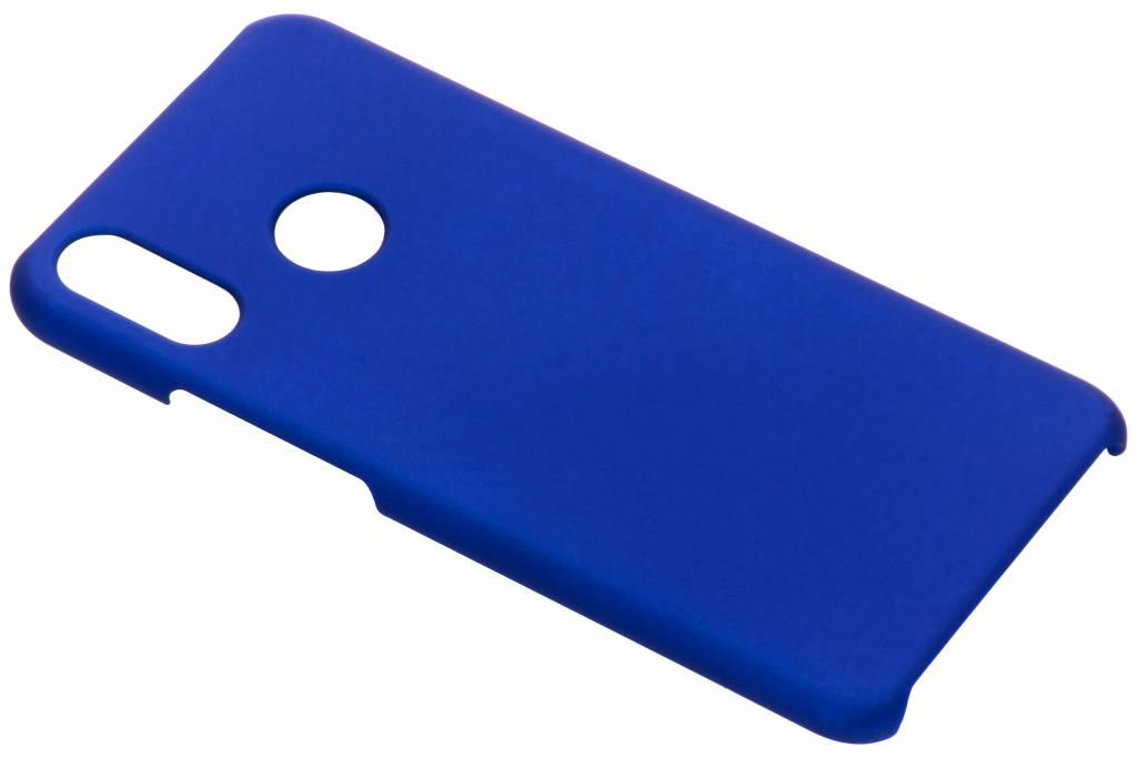 Blauw effen hardcase hoesje voor de Huawei P Smart Plus