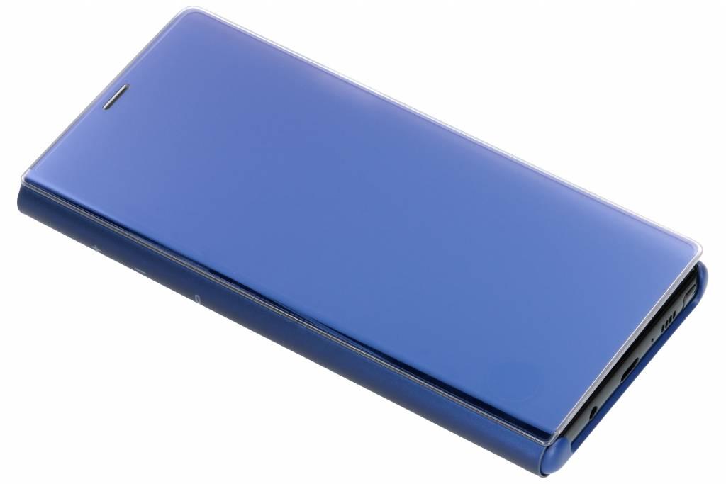 Samsung Blauwe Clear View Standing Cover voor de Samsung Galaxy Note 9