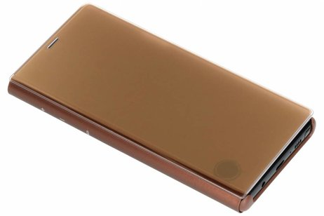 Samsung Clear View Standing Booktype voor Samsung Galaxy Note 9 - Bruin