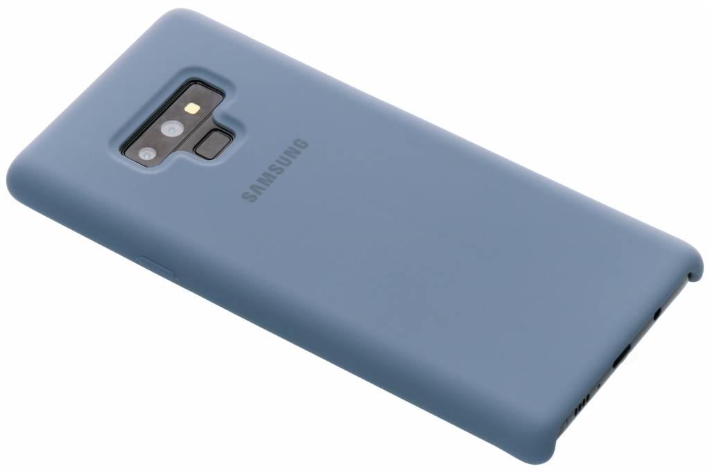 Samsung Blauwe Originele Silicone Cover voor de Galaxy Note 9