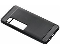 Zwart brushed TPU case Meizu Pro 7