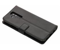 Zwart TPU Bookcase Huawei Mate 20 Lite