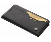 Zwart card set booktype hoes Huawei Mate 20 Lite