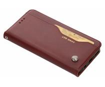 Bordeauxrood card set booktype hoes Huawei Mate 20 Lite