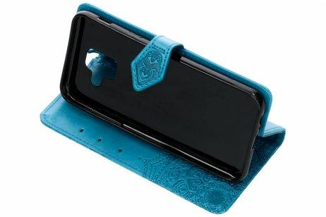 Samsung Galaxy A6 (2018) hoesje - Mandala Booktype voor Samsung