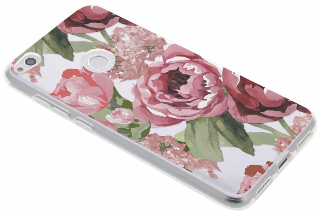Design Backcover voor Huawei P8 Lite (2017) - Romantic Bloemen
