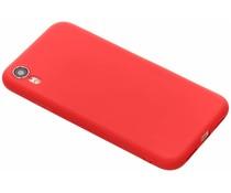Koraal color TPU hoesje iPhone Xr
