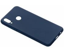 Blauw color TPU hoesje Huawei P Smart Plus