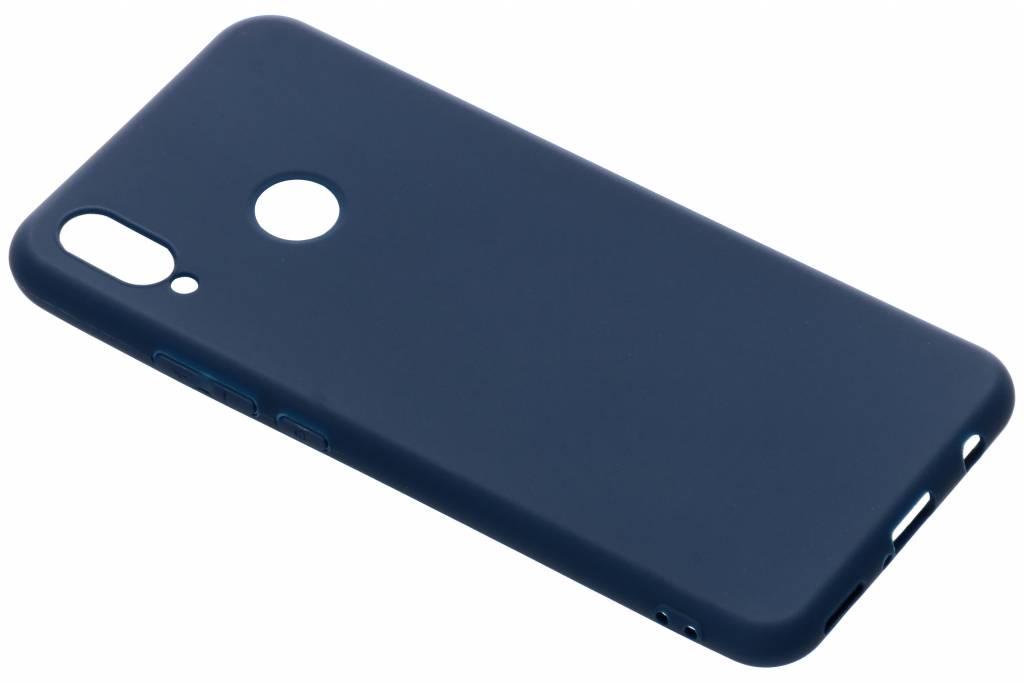 Blauw color TPU hoesje voor de Huawei P Smart Plus