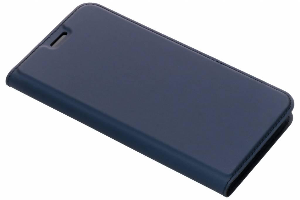 Dux Ducis Slim Softcase Booktype voor iPhone Xr - Donkerblauw